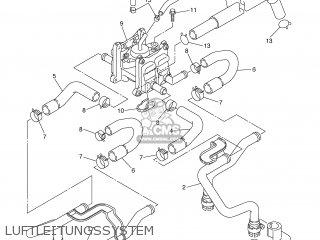 Yamaha XJR1300 2002 5EAU GERMANY 1A5EA-332G2 parts lists