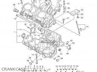 Yamaha Xjr1300 2003 5wm1 England 1b5wm-300e2 parts list