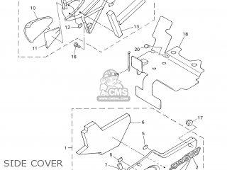 Yamaha XJR1300 2003 5WM1 HOLLAND 1B5WM-300E2 parts lists