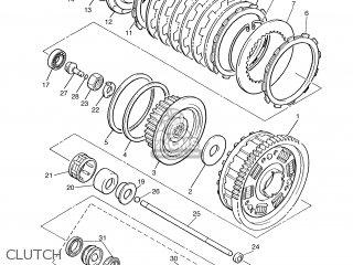 Yamaha Xjr1300 2006 5wmd Europe 1e5wm-351f1 parts list