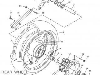 Yamaha Xjr1300 2007 5wmg Europe 1f5wm-300e1 parts list
