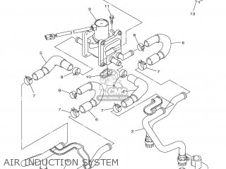 Yamaha XJR1300 2007 5WMG EUROPE 1F5WM-352S1 parts lists
