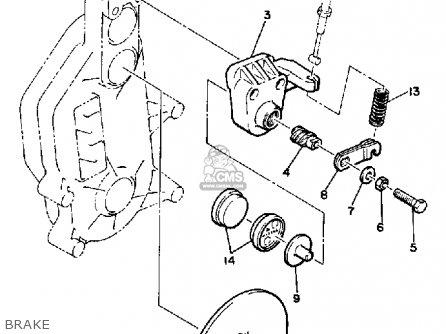 Yamaha Xl540j Excel-v 1985 parts list partsmanual partsfiche