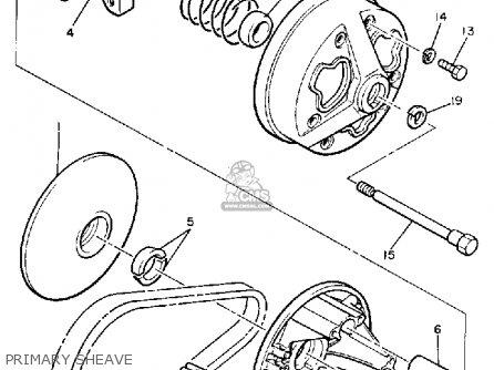 Yamaha XL540J EXCEL-V 1985 parts lists and schematics