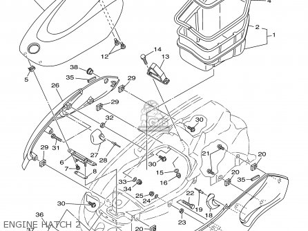 Yamaha XL700-A 2002 parts lists and schematics