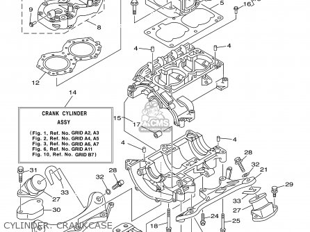 Yamaha XL700-B 2003 parts lists and schematics