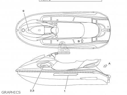Yamaha Xl700-b 2003 parts list partsmanual partsfiche