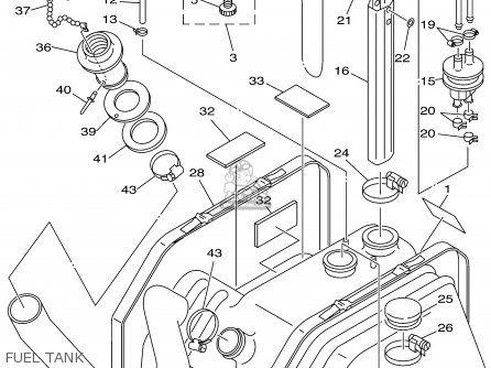 Yamaha XL700X 1999 parts lists and schematics