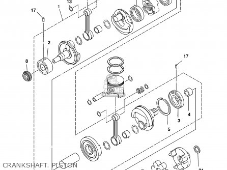 Yamaha Xl700z 2001 parts list partsmanual partsfiche