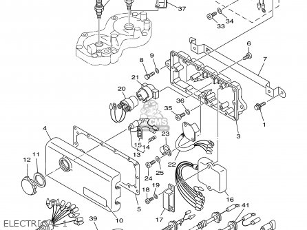 Yamaha XL700Z 2001 parts lists and schematics