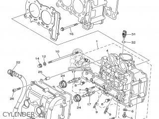 Yamaha XP500 2006 5VU8 ENGLAND 1E5VU-300E1 parts lists and