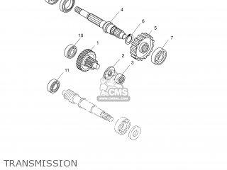 Yamaha XQ125 2001 5HT1 ENGLAND 115HT-300E2 parts lists and