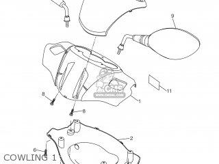 Yamaha Xq125 2001 5ht1 England 115ht-300f2 parts list