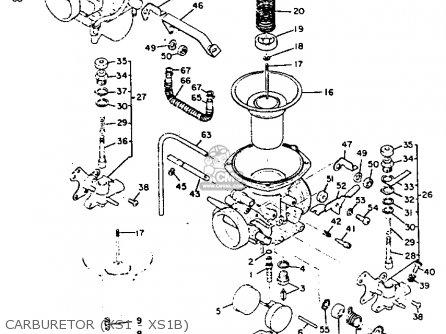 Yamaha XS1 1970 USA parts lists and schematics