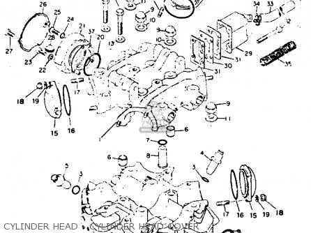 Yamaha Xs1 1970 Usa parts list partsmanual partsfiche