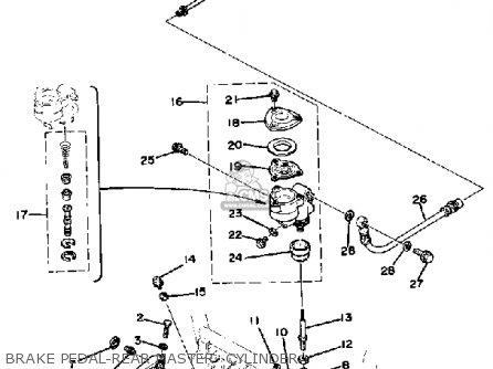 Yamaha XS1100 1978 USA parts lists and schematics