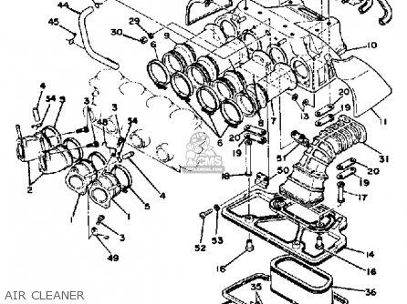 Yamaha XS1100 1979 USA parts lists and schematics