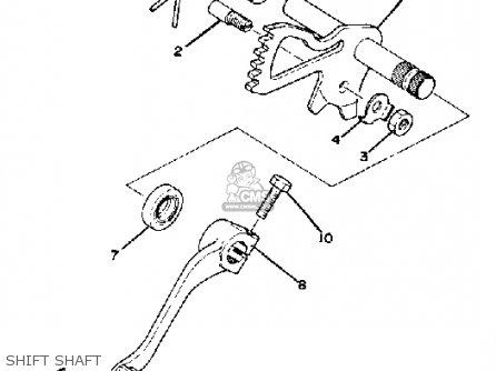 Yamaha Xs1100 1979 Usa parts list partsmanual partsfiche