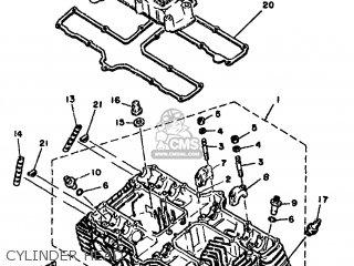 Yamaha XS1100 1980 3X0 EUROPE 293X0-300E1 parts lists and