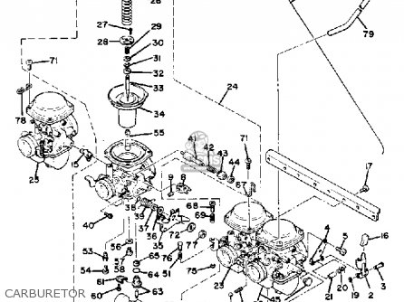 Yamaha XS1100 1980 (A) USA parts lists and schematics