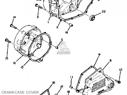 Yamaha XS1100 1980 (A) USA parts lists and schematics