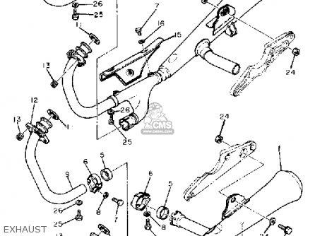 Yamaha XS1100 1981 (B) USA parts lists and schematics