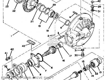 Yamaha Xs1100e 1978 parts list partsmanual partsfiche