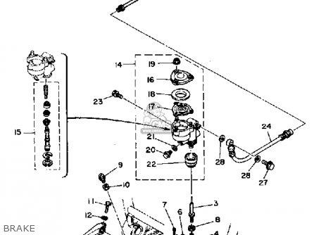 Yamaha Xs1100l Midnight Special 1980 (a) Usa parts list