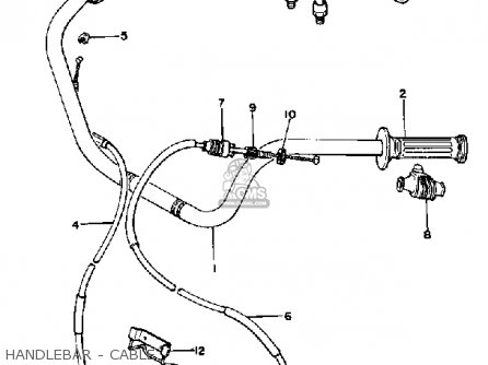 Yamaha XS1100L MIDNIGHT SPECIAL 1980 (A) USA parts lists