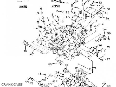 Yamaha Xs1100l Midnight Special 1981 (b) Usa parts list