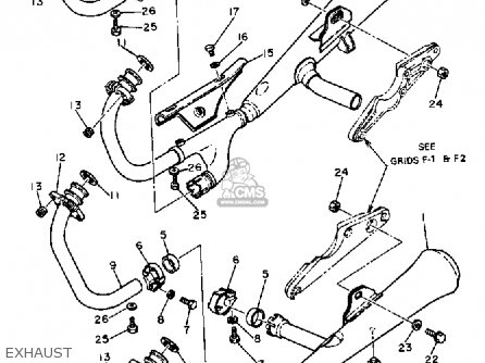 Yamaha XS1100L MIDNIGHT SPECIAL 1981 (B) USA parts lists