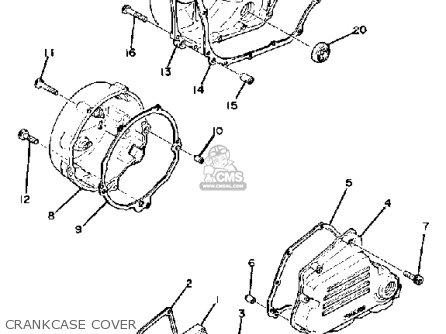 Yamaha XS1100S 1979 USA parts lists and schematics