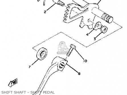 Yamaha Xs1100s 1979 Usa parts list partsmanual partsfiche