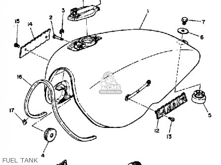 Yamaha XS1100S 1980 (A) USA parts lists and schematics