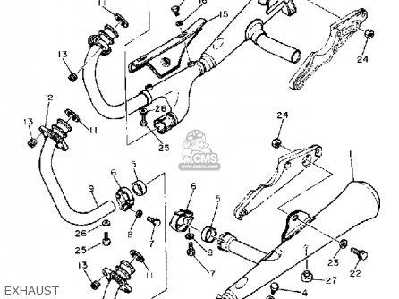 Yamaha Xs1100s 1981 (b) Usa parts list partsmanual partsfiche