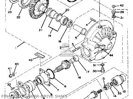 Yamaha Xs1100sf 1979 parts list partsmanual partsfiche