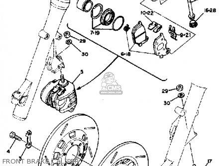 Yamaha Xs1100sg 1980 parts list partsmanual partsfiche