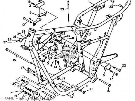 Yamaha Xs2 1970-1973 parts list partsmanual partsfiche