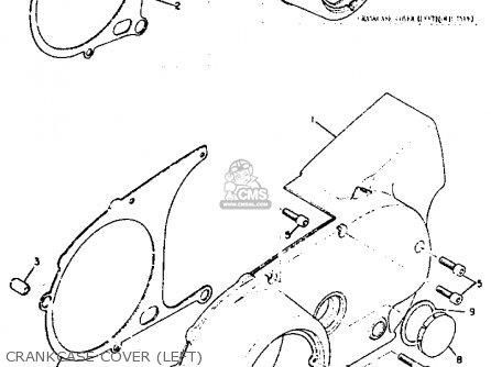 Yamaha Xs2 1972 Usa parts list partsmanual partsfiche