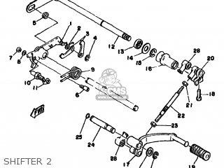 Yamaha Xs250 1979 3n6 Europe 293n6-300e1 parts list