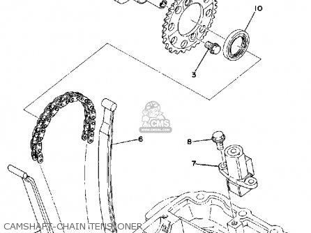 Yamaha Xs360-2 1977 Usa parts list partsmanual partsfiche