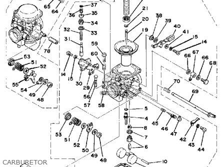 Yamaha Xs360-2d 1977 parts list partsmanual partsfiche