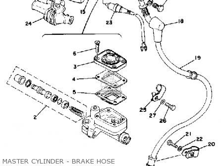 Yamaha Xs400 1978 Usa parts list partsmanual partsfiche