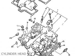 Yamaha XS400 1982 12E EUROPE 2212E-310E1 parts lists and