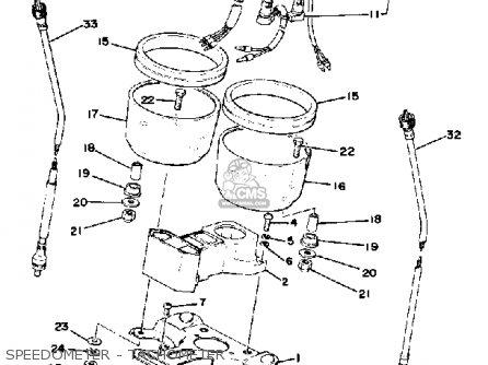Yamaha Xs400-2 1978 Usa parts list partsmanual partsfiche
