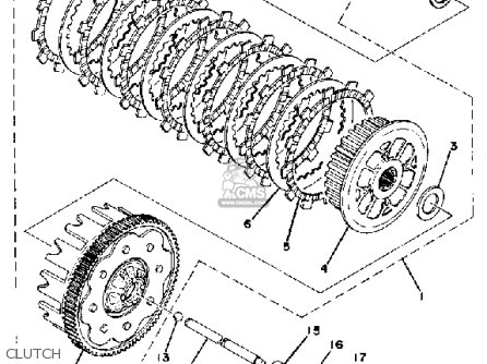 Yamaha XS400-2 1979 USA parts lists and schematics