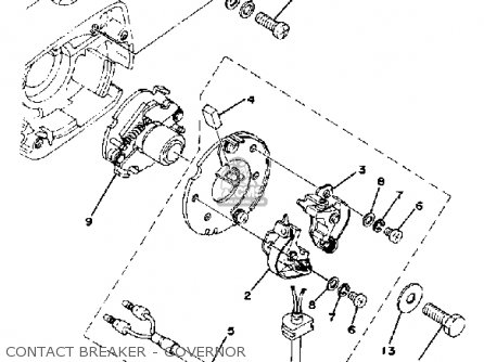 Yamaha XS400-2 1979 USA parts lists and schematics