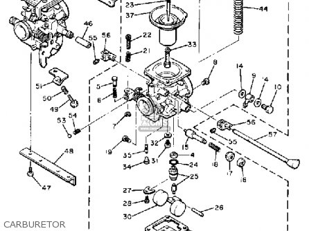Yamaha XS400-2 SPECIAL 1980 (A) USA parts lists and schematics