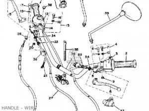 Yamaha Xs4002e 1978 parts list partsmanual partsfiche