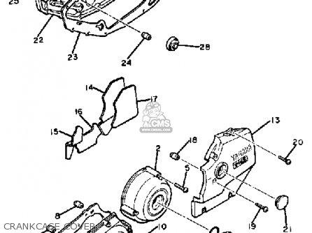 Yamaha XS400 MAXIM 1983 (D) USA parts lists and schematics